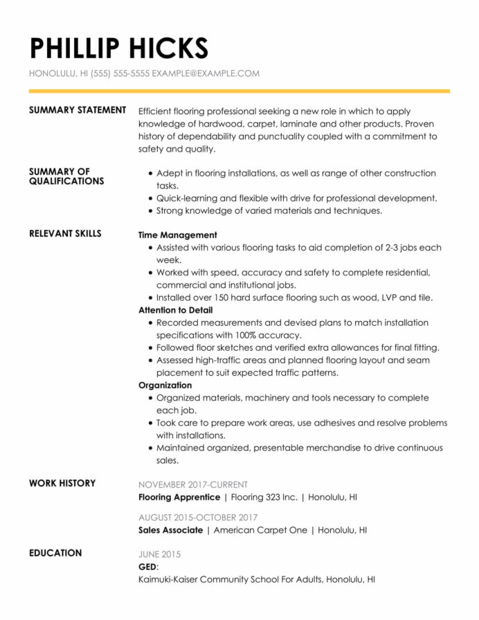 effective resume samples for experienced qualifications and skills designation on kyc Resume Resume Listing Crossword