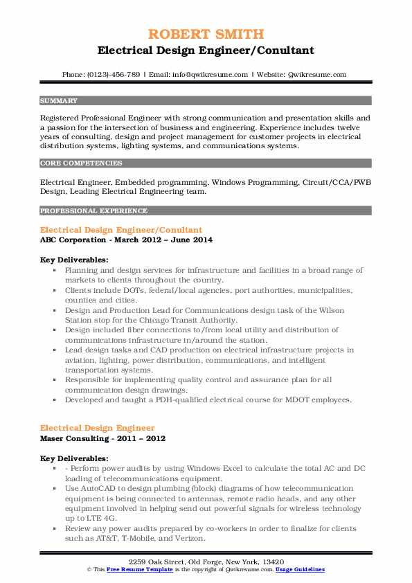 electrical design engineer resume samples qwikresume panel board pdf include references Resume Panel Board Design Engineer Resume