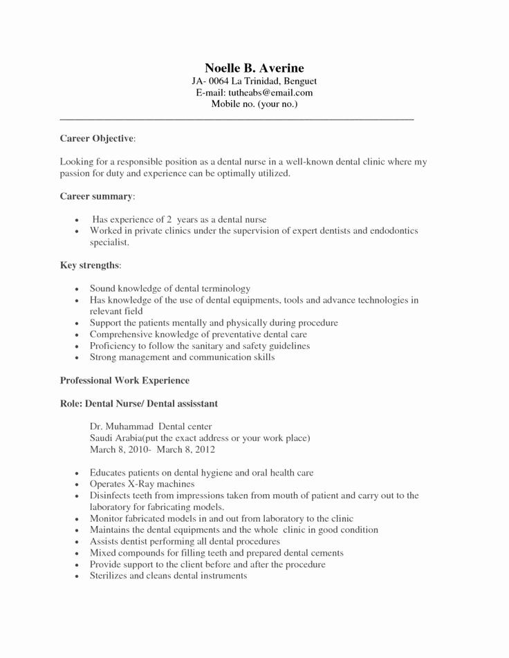 example of dental assistant resume inspirational examples resumes den medical no Resume Dental Assistant Resume Examples With No Experience