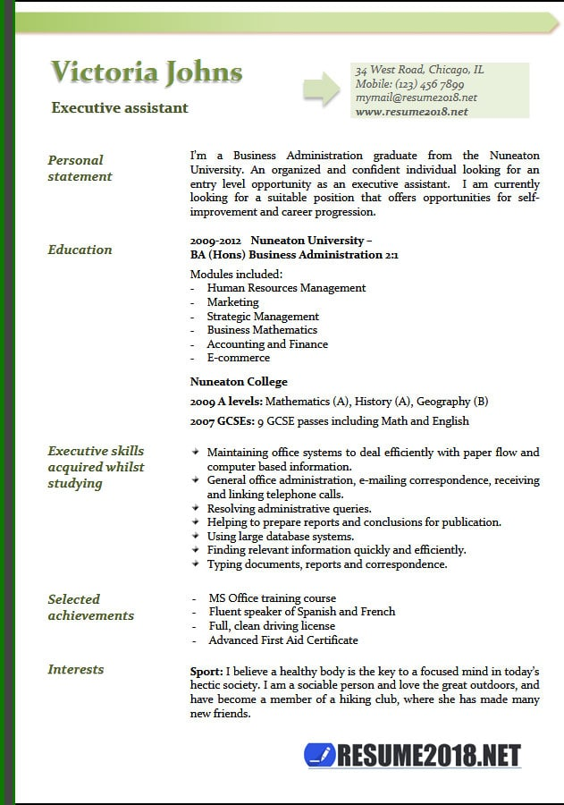 executive assistant resume examples template pharmacy intern objective skills of Resume Executive Assistant Resume Template
