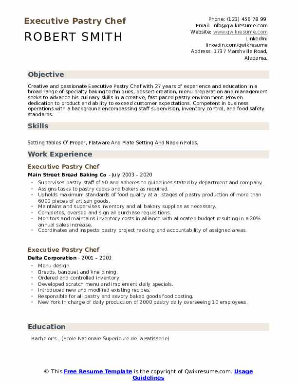 executive pastry chef resume samples qwikresume banquet sample pdf buzzwords insurance Resume Banquet Chef Resume Sample
