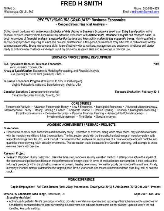 financial analyst business economics resume sample job examples objective entry level Resume Supply Chain Analyst Resume Keywords