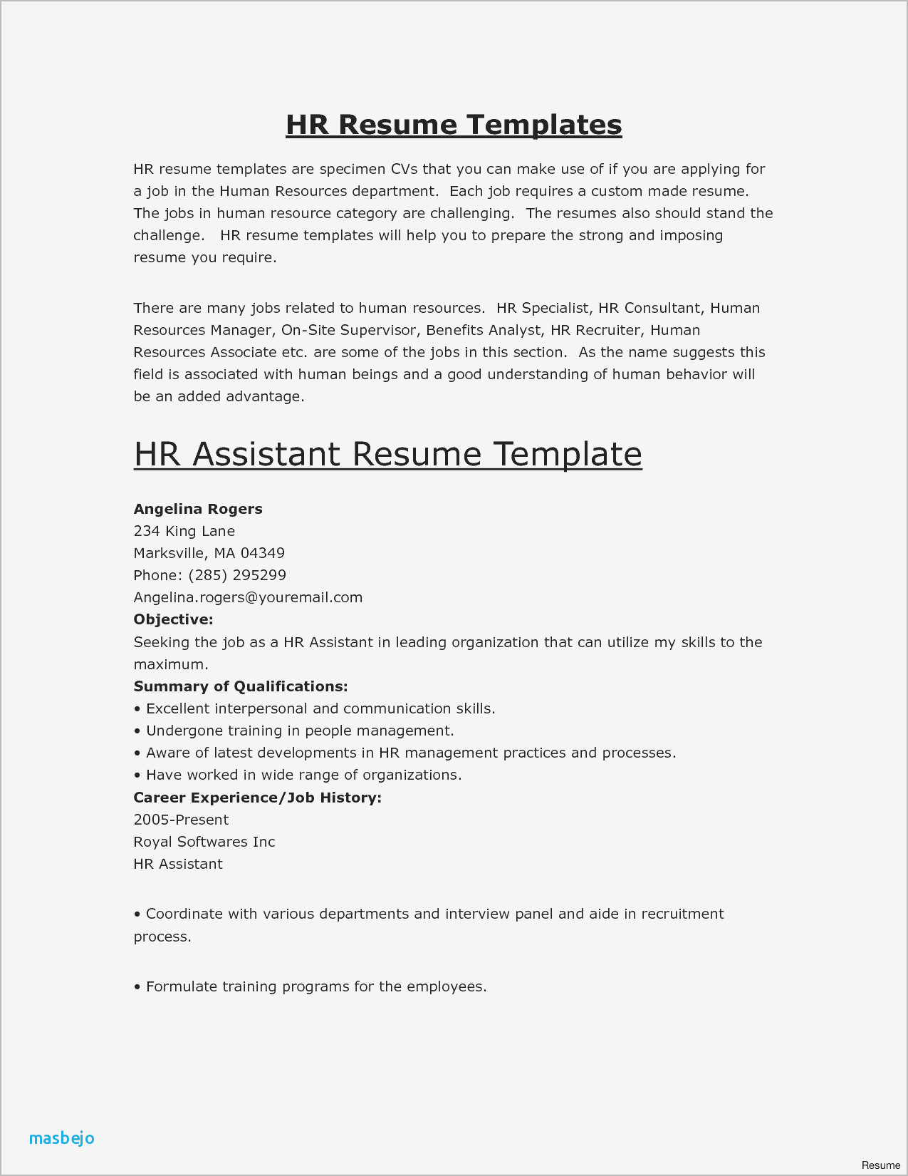 first job resume summary examples best good for new objective of dos and don ts high Resume Good Resume Summary Examples