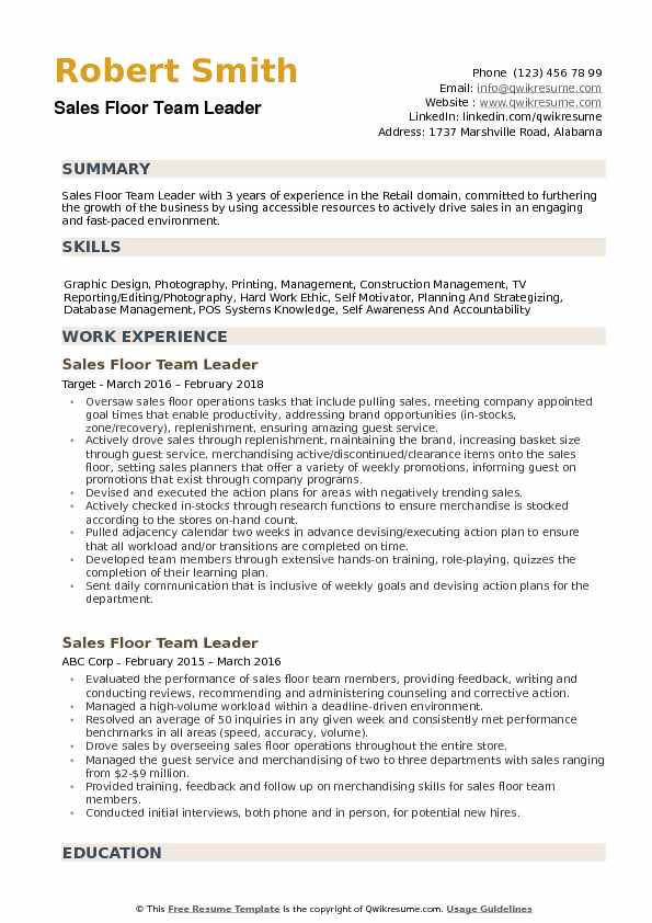 floor team leader resume samples qwikresume pdf mentor job description for sap basis Resume Team Leader Resume Samples