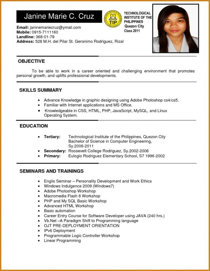 for job resume format ojt objectives accounting students device transcription summary Resume Sample Resume Objective For Tourism Students