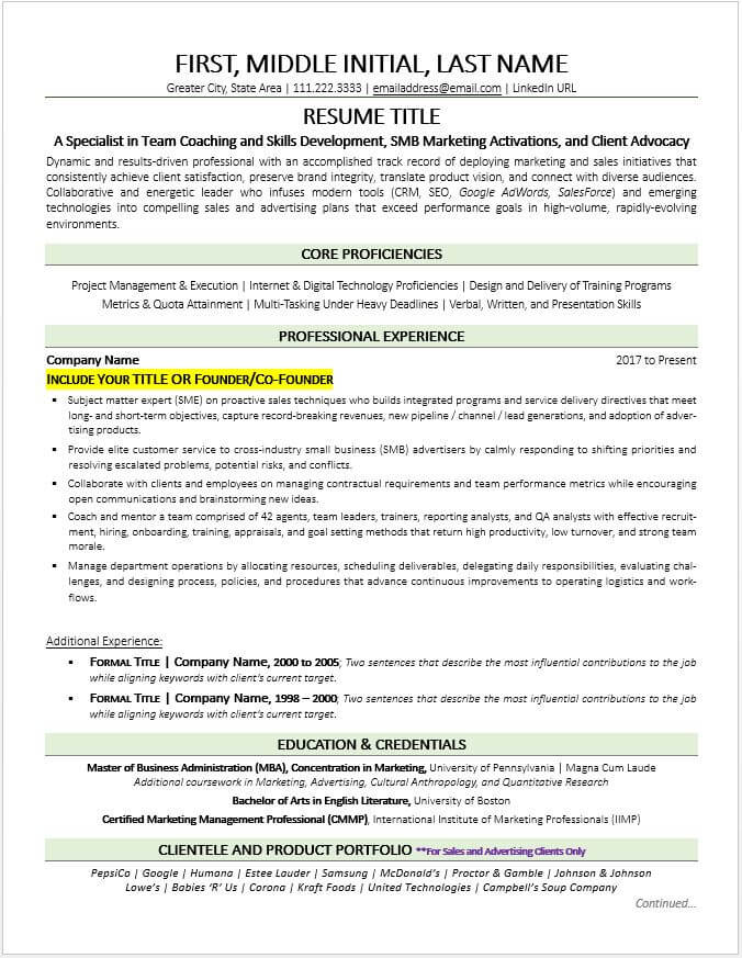former business owner resume example tips zipjob for self employed people objective media Resume Resume For Self Employed People