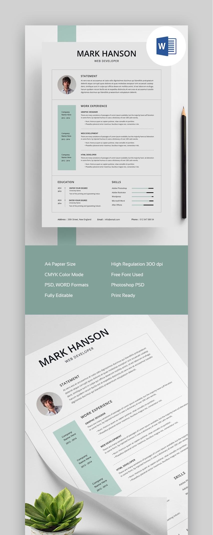 free creative resume templates word downloads for graphic design template env clean final Resume Free Graphic Design Resume Template