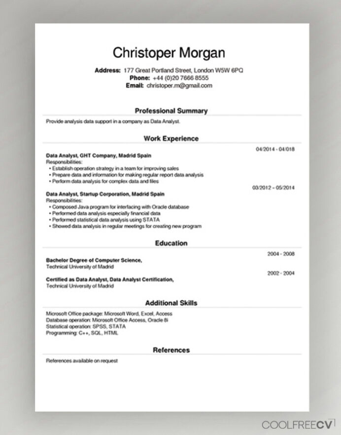 free cv creator maker resume builder pdf can make for example public speaking campus Resume Where Can I Make Resume Online For Free