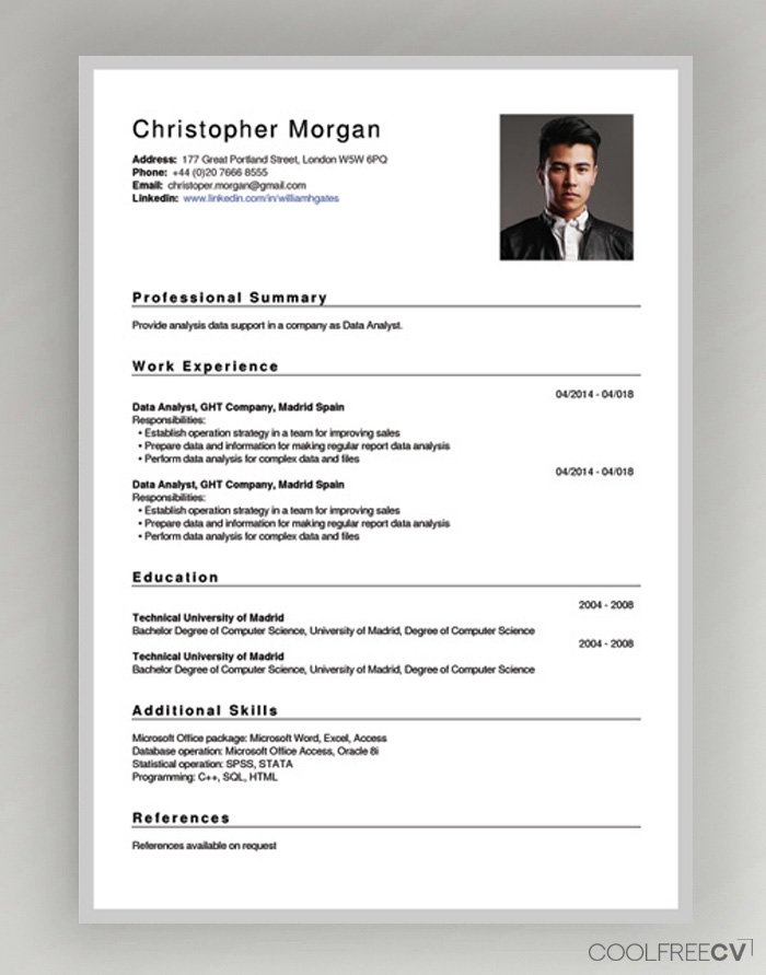 free cv creator maker resume builder pdf can make for template new good college examples Resume Where Can I Make Resume Online For Free