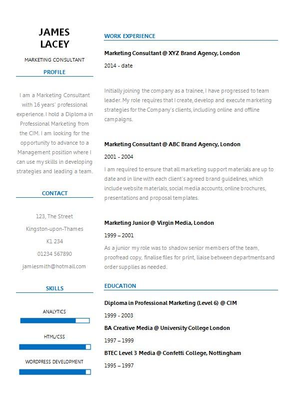 free fresh two column cv resume template in microsoft word form creativebooster col Resume Two Column Resume Template