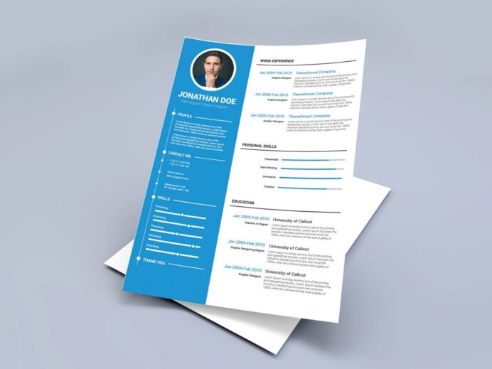 free modern resume template word format maxresumes graphic design human resources Resume Free Graphic Design Resume Template Word