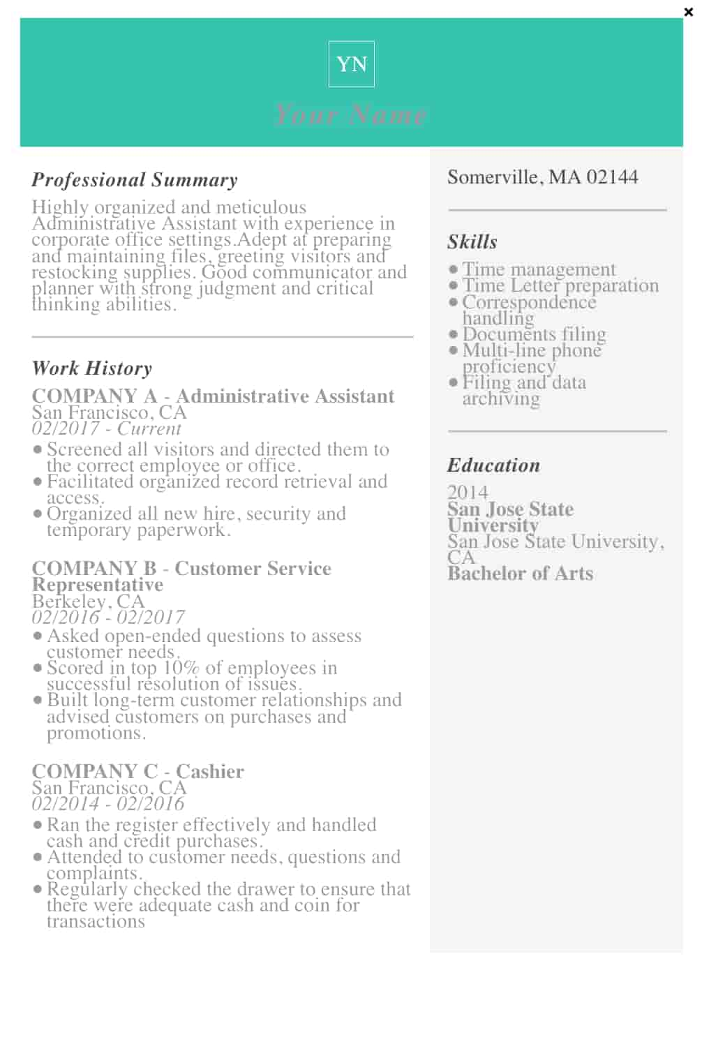 free resume templates for microsoft word to make your own skills template screen shot at Resume Skills Resume Template Word