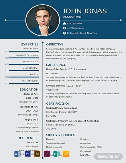free resume templates in adobe photoshop template net experience banking for freshers Resume Adobe Photoshop Experience Resume