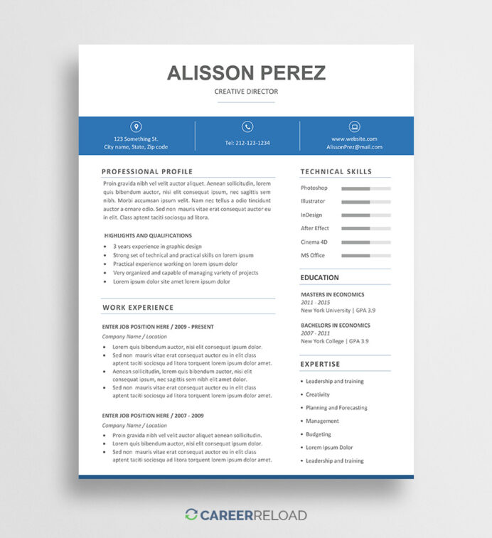 free word resume template instant career reload templates in format pharmacist job Resume Free Resume Templates In Word Format
