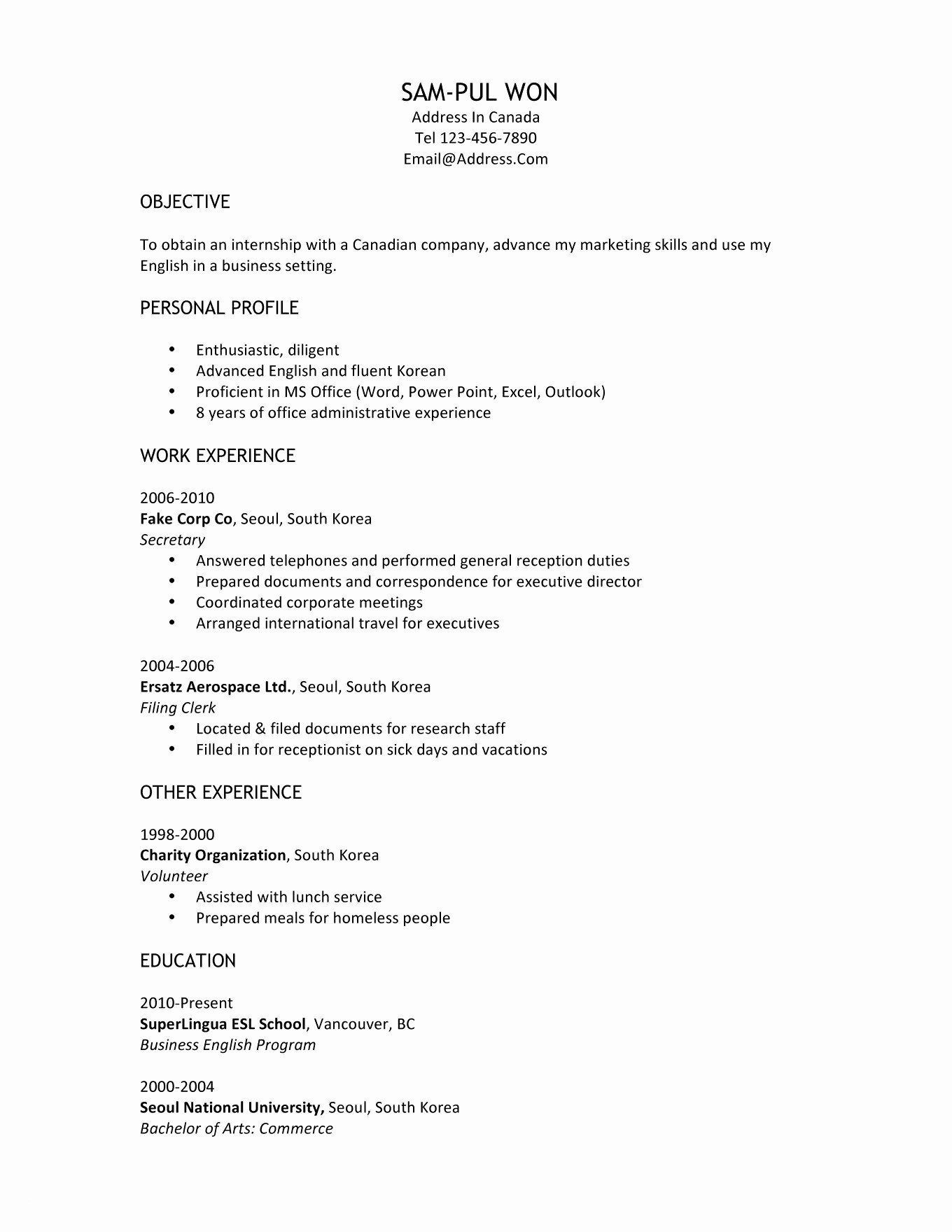 front desk receptionist resume sample inspirational samples professional recepti template Resume Expected Graduation On Resume