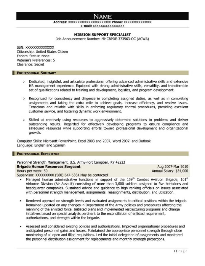 good resume examples for all careers prime economic support specialist mission sample Resume Economic Support Specialist Resume