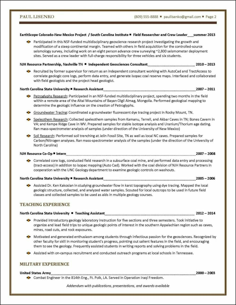 graduate student resume example distinctive career services one new sample room attendant Resume One Page Student Resume