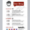 graphic designer resume sample template preview basic font for skills and strengths Resume Graphic Designer Resume Template