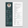 Resume Template Video Editor