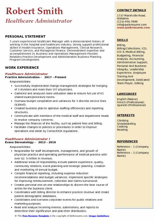 healthcare administrator resume samples qwikresume hospital pdf format entertainment Resume Hospital Administrator Resume
