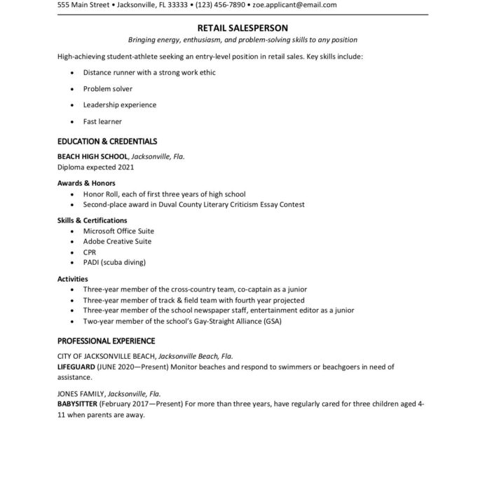 high school student resume template first federal agent master of business administration Resume Master Of Business Administration On Resume