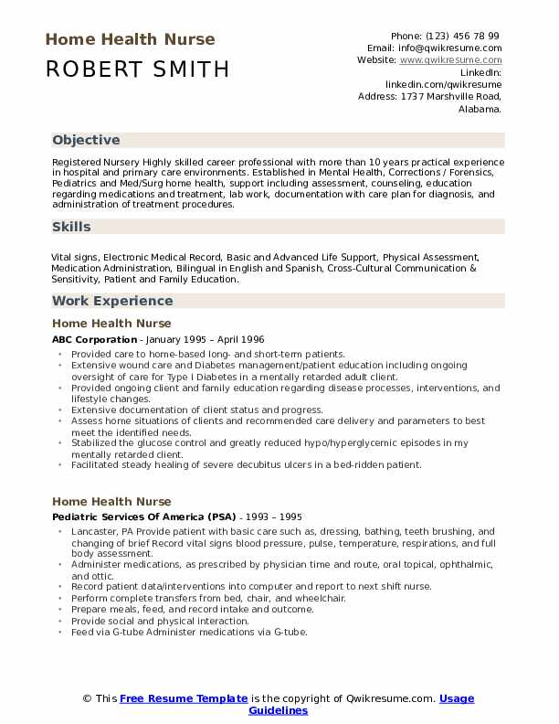 home health nurse resume samples qwikresume aide pdf design your own template academic Resume Home Health Aide Resume