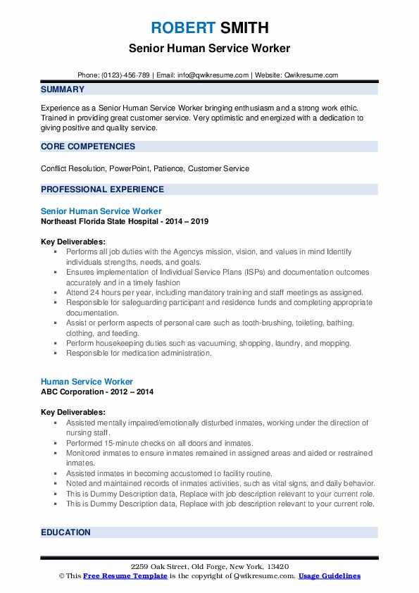 human service worker resume samples qwikresume services with no experience pdf short note Resume Human Services Resume With No Experience