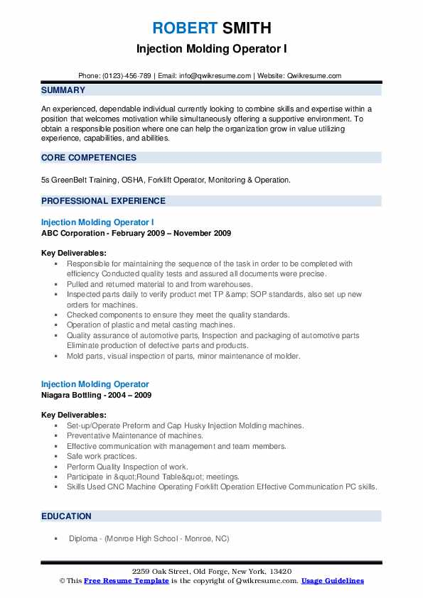 injection molding operator resume samples qwikresume pdf filter independent consultant if Resume Injection Molding Resume