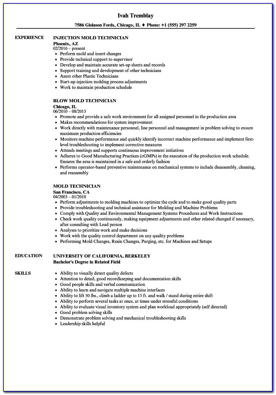 injection molding process engineer resume vincegray2014 filter journalism examples Resume Injection Molding Resume