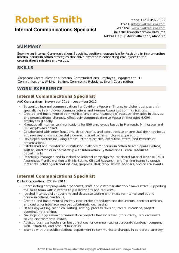 internal communications specialist resume samples qwikresume pdf computer systems Resume Internal Communications Resume