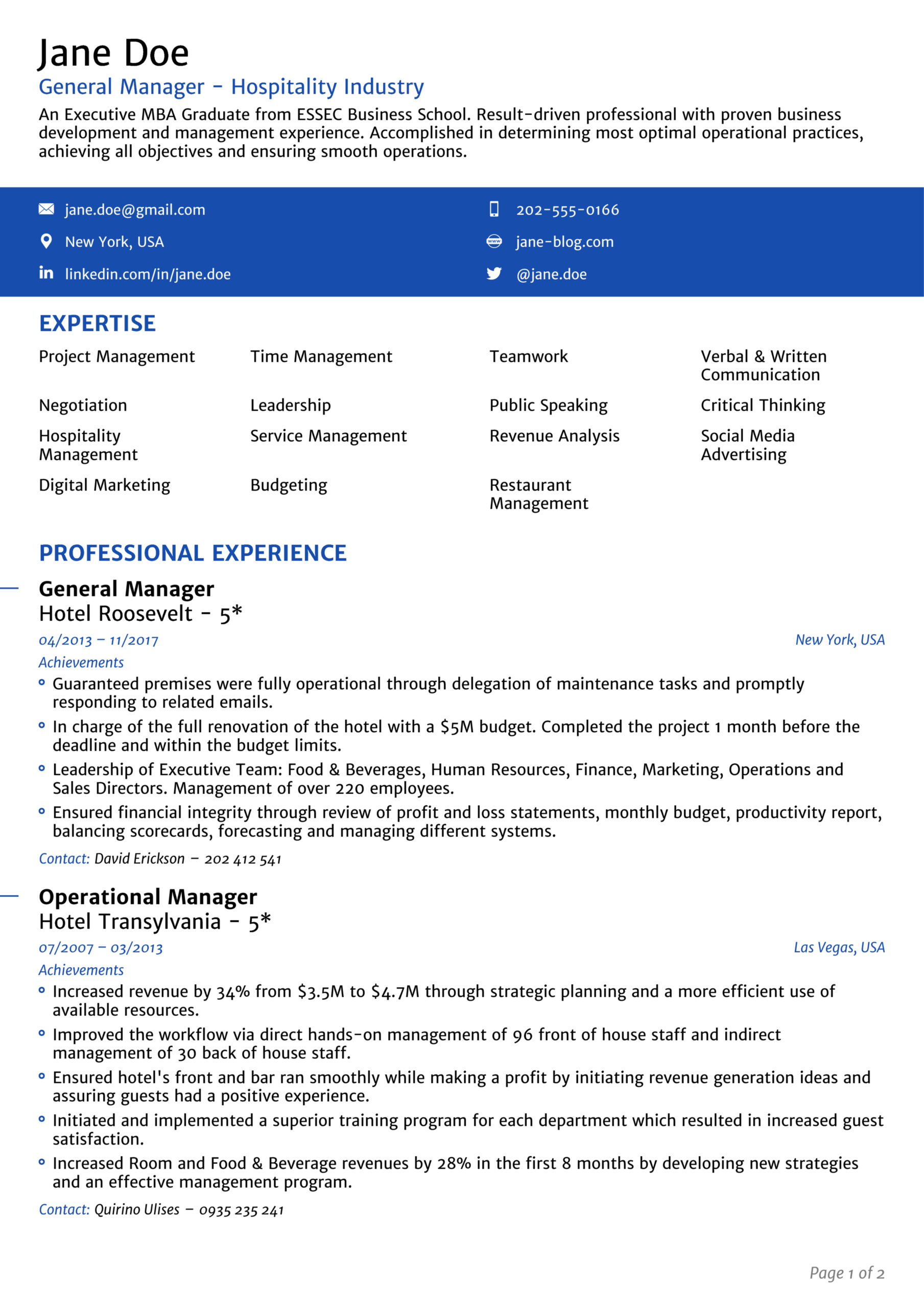 job titles examples for your resume search profile headline sample title in senior Resume Profile Headline For Resume Sample