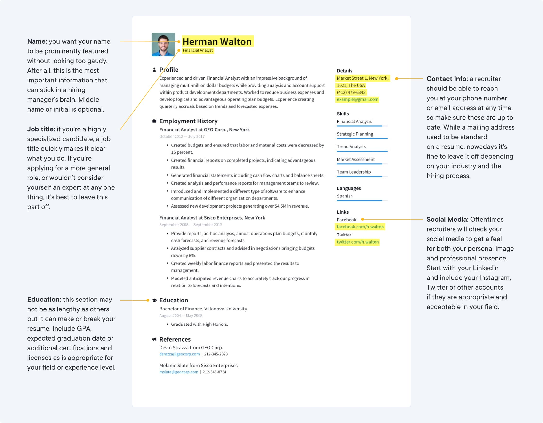 job winning resume templates free io professional cv template letter of application with Resume Professional Resume Cv Template