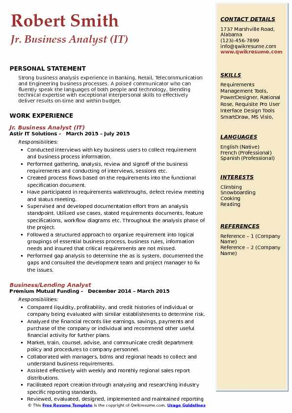 jr business analyst resume samples qwikresume junior pdf free search for recruiters Resume Junior Business Analyst Resume