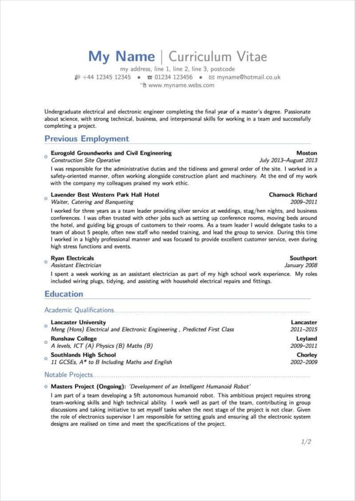 latex resume templates and cv for template overleaf resumelab upload unemployment new Resume Upload Resume For Unemployment