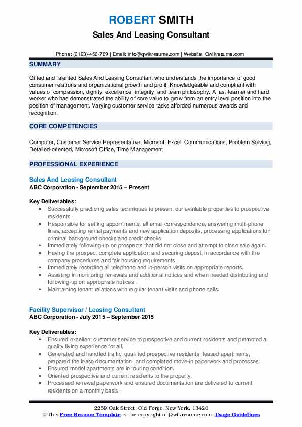 leasing consultant resume samples qwikresume agent sample pdf set up example retail Resume Leasing Agent Resume Sample