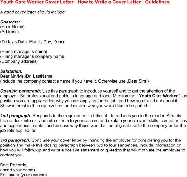 letter youth worker cover child and skills resume nanny objective example sample word Resume Child And Youth Worker Skills Resume