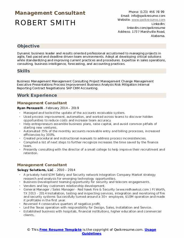 management consultant resume samples qwikresume skills for consulting pdf writing test Resume Skills For Consulting Resume