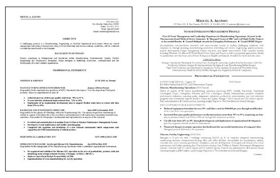 manufacturing operations resume objective examples writing samples for job linkedin Resume Resume Objective For Manufacturing Job