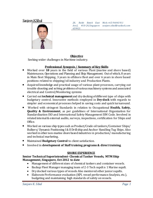marine technical superintendent resume march electrical of sanjeev sibal home improvement Resume Electrical Superintendent Resume