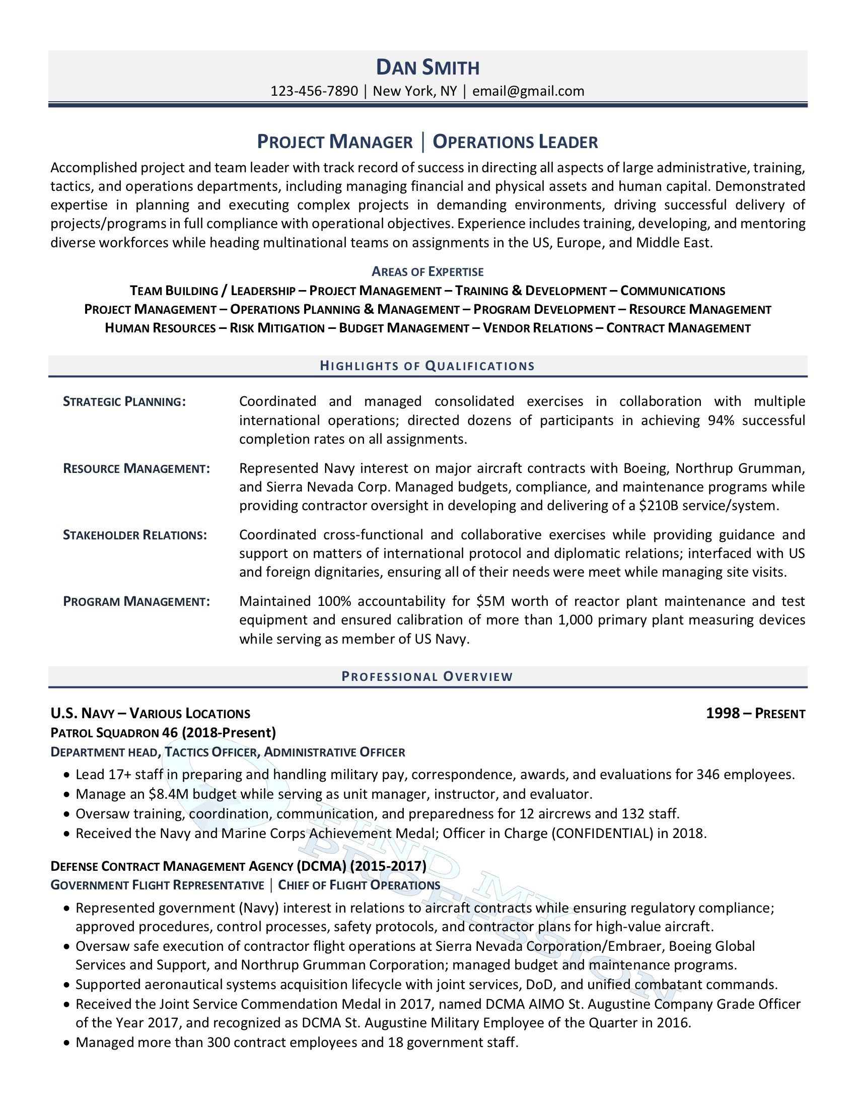mean stack resume sample automotive technician special accomplishments on for military Resume Military Resume Examples 2020