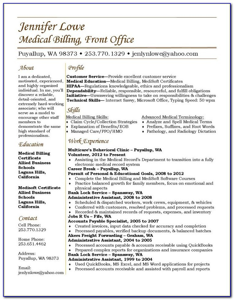 medical billing and coding resume examples vincegray2014 insurance bootstrap template Resume Billing And Coding Resume