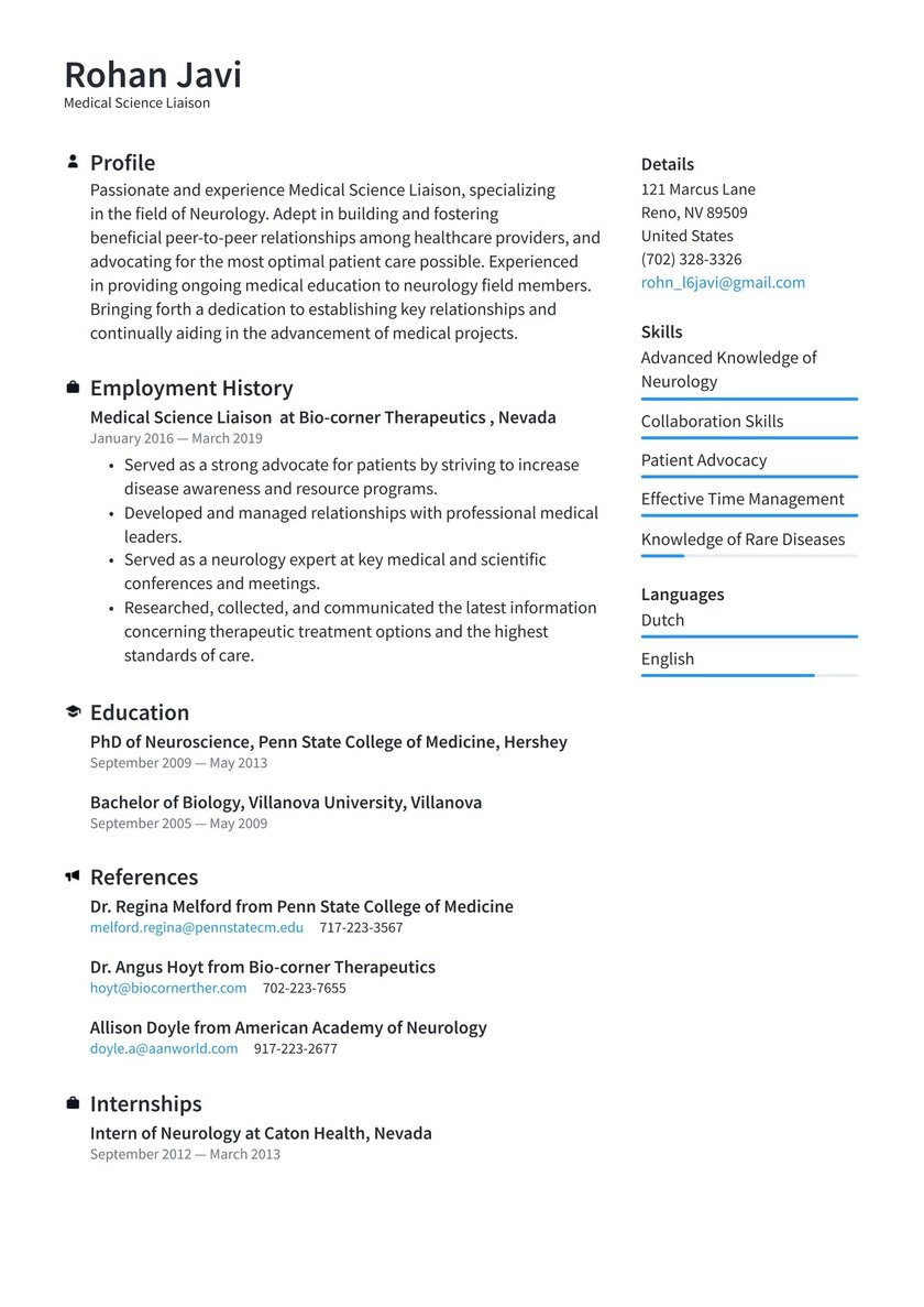 medical science liaison resume examples writing tips free penn state template fatima film Resume Penn State Resume Template