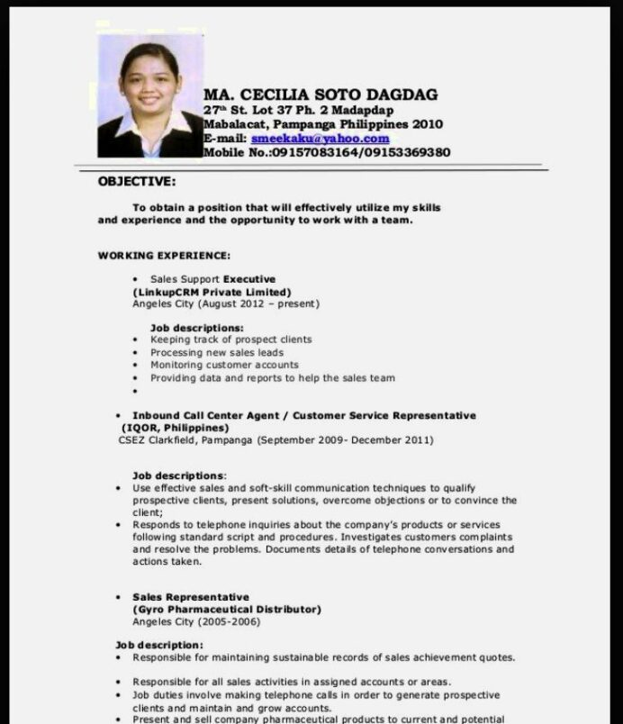 objective for oil and gas resume sample fresh graduate software engineer computer Resume Resume Template For Fresh Graduate Without Experience