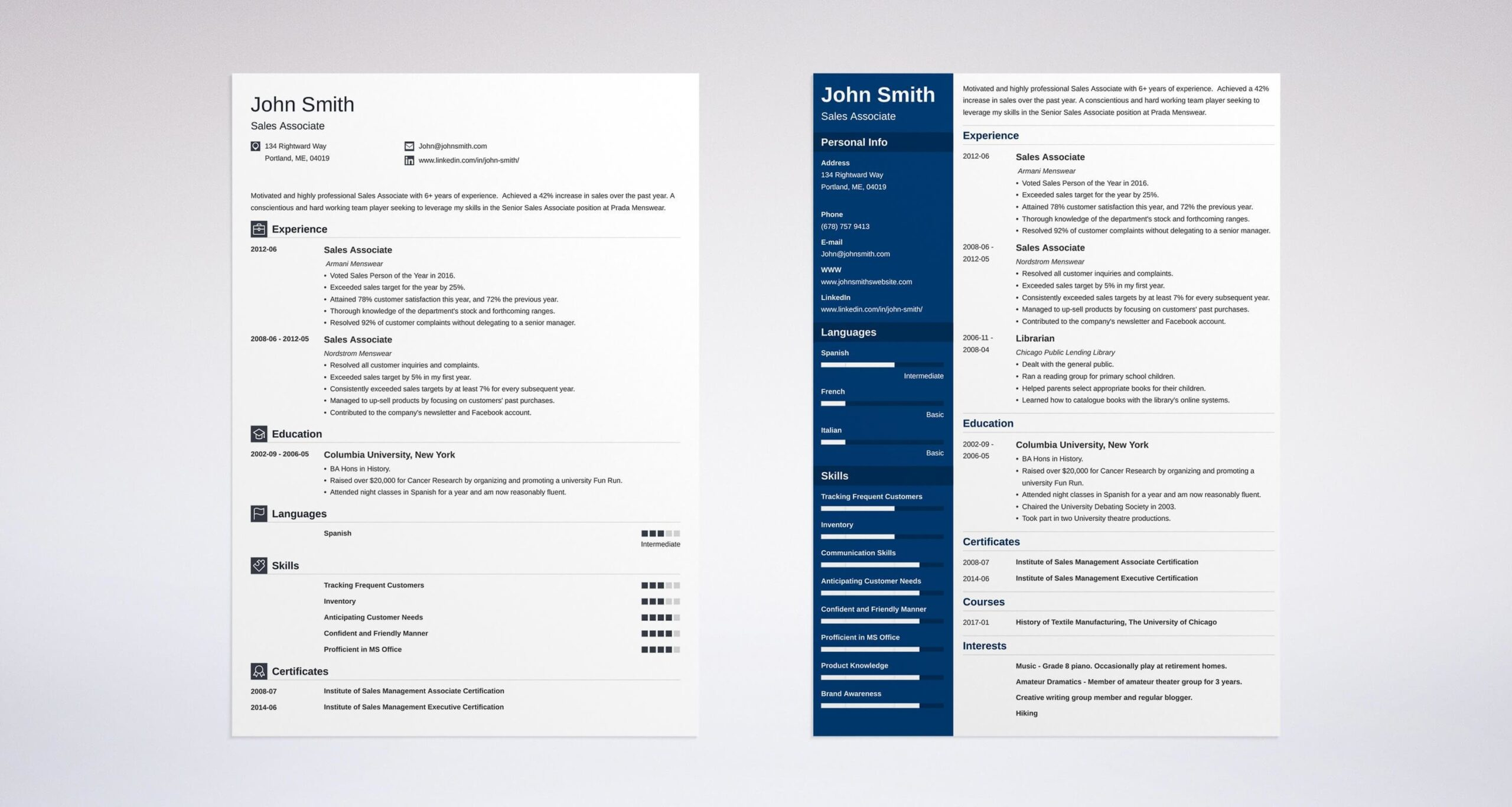 of hobbies and interests for resume cv examples associate example resumes education Resume Resume Hobbies Examples