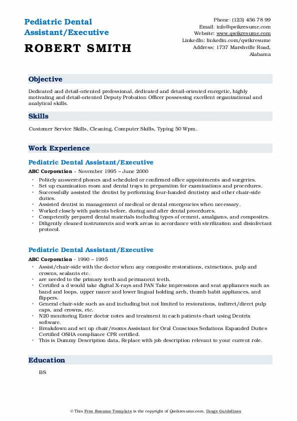 pediatric dental assistant resume samples qwikresume pdf another word for passionate on Resume Pediatric Dental Assistant Resume