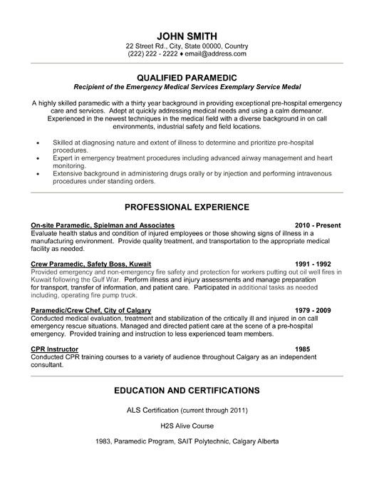 pin by kai kowalski on medical resume template assistant nursing free emt templates for Resume Free Emt Resume Templates