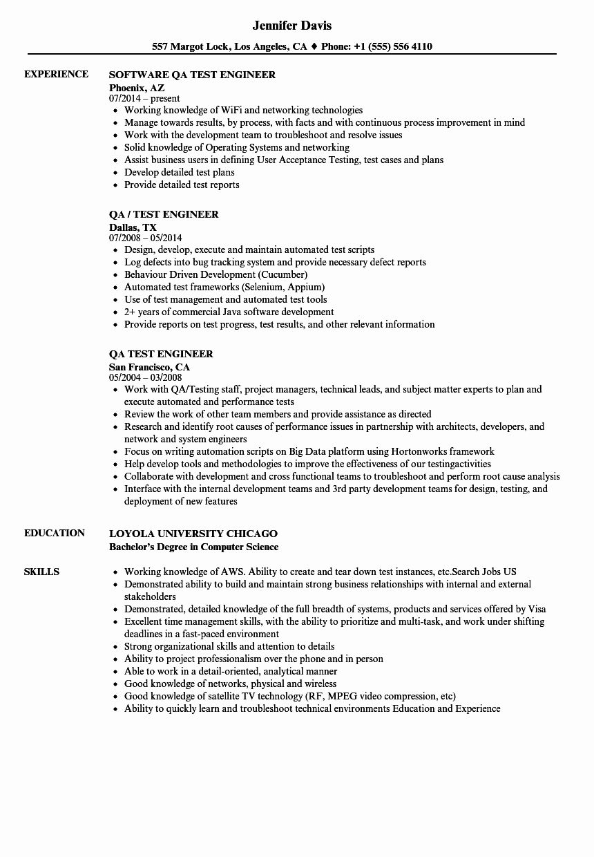 pin on job resume sample qa tester with years experience effective tips medical surgical Resume Qa Tester Resume With 5 Years Experience