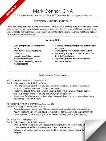 pin on resume examples certified nursing assistant objective massage therapist for Resume Certified Nursing Assistant Resume Objective