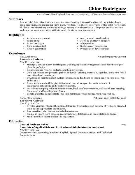 pin on resume format best for executive assistant engineering technician cyber security Resume Best Resume Format For Executive Assistant