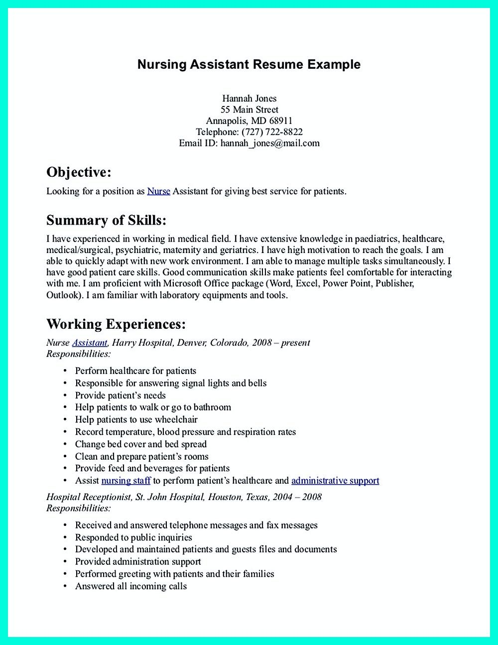 pin on resume sample template and format cna caregiver samples linkedin services sewing Resume Cna Caregiver Resume Samples
